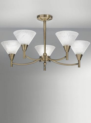 Franklite FL2251/5 Bronze Ceiling Light